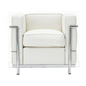 「ル・コルビジェ」デザイン ソファー 1Pホワイト