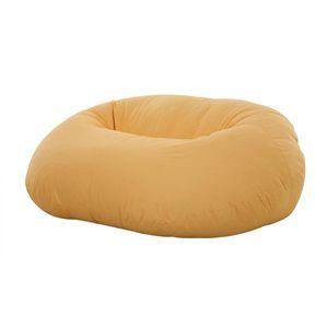 黄色いソファー『フロアクッションソファ【MARCO】マルコ』