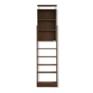 本棚 ブラウン 究極のこだわり本棚!突っ張り式!の詳細を見る