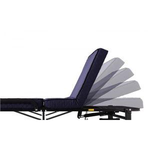 折りたたみベッド 低反発電動リクライニング折りたたみベッド【forto】フォルト画像3