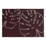 ウィルトン織デザインラグ 【Effele】 エッフェル 200×250 レッド【送料無料】