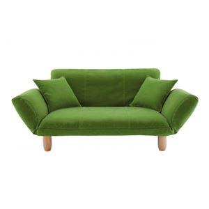 ソファー【LeJOY】グラスグリーン 脚:ナチュラル 【リジョイ】:20色から選べる!カバーリングカウチソファの詳細を見る