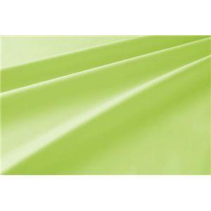 新20色羽根布団8点セット洗い替え用布団カバー3点セット(シングル) ベッドタイプ ペールグリーン