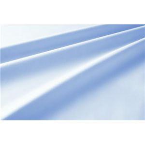新20色羽根布団8点セット洗い替え用布団カバー3点セット(セミダブル) ベッドタイプ パウダーブルー