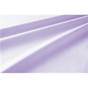 新20色羽根布団8点セット洗い替え用布団カバー3点セット(セミダブル) ベッドタイプ ラベンダー