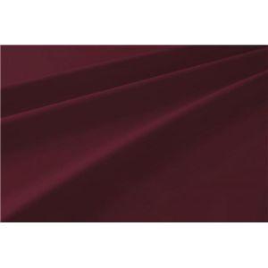 新20色羽根布団8点セット洗い替え用布団カバー3点セット(セミダブル) 和タイプ ワインレッド