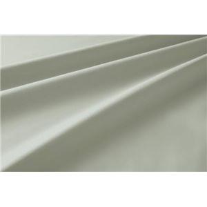 新20色羽根布団8点セット洗い替え用布団カバー3点セット(ダブル) ベッドタイプ シルバーアッシュ