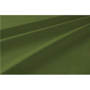 新20色羽根布団8点セット洗い替え用布団カバー3点セット(ダブル) ベッドタイプ オリーブグリーン