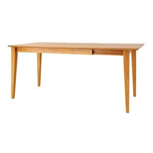 【単品】ダイニングテーブル【Eagle】ナチュラル エクステンションテーブルダイニング【Eagle】イーグル Lサイズダイニングテーブル