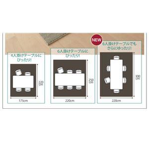 ラグマット 220×250cm【Safes】ベージュ 撥水・防汚・防ダニ・抗菌ダイニングラグ【Safes】サフィス