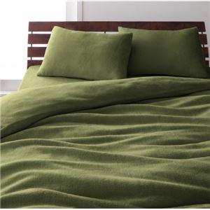 布団8点セット ベッドタイプ/ダブル オリーブグリーン 新20色羽根布団8点セット【マイクロファイバータイプ】 ベッドタイプの詳細を見る