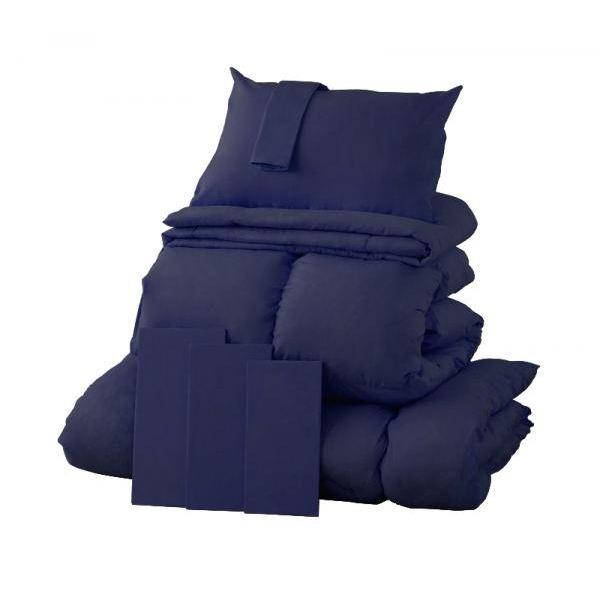 9色から選べる!羽毛布団8点セット プレミアム敷布団タイプ