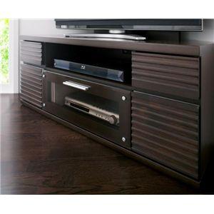 天然木デザインテレビボード【ALTER】アルター コーナータイプ ブラウン