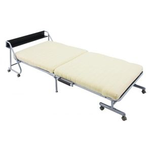 宮付きリクライニング折りたたみベッド(収納式) 【Tars】 タルス ベージュ