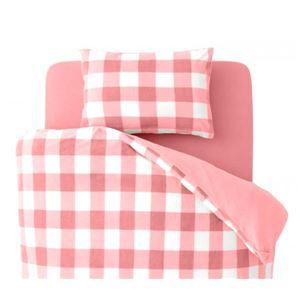 布団カバーセット キング 柄:チェック カラー:ピンク 32色柄から選べるスーパーマイクロフリースカバーシリーズ ベッド用3点セットの詳細を見る