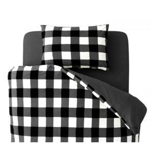 布団カバーセット ダブル 柄:チェック カラー:ブラック 32色柄から選べるスーパーマイクロフリースカバーシリーズ 和式用3点セットの詳細を見る