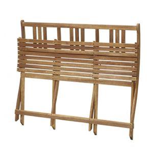 【ベンチのみ】ベンチ 2人掛け 座面カラー:アカシアナチュラル ベンチのサイズが選べる アカシア天然木ガーデンファニチャー Efica エフィカ