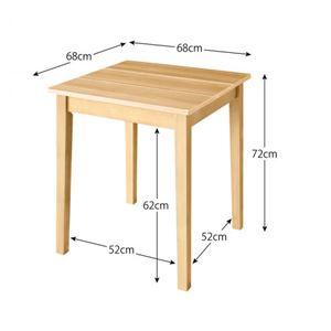 テーブル 幅68cm テーブルカラー:ホワイト...の紹介画像3