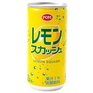えひめ飲料 ポン炭酸飲料 レモンスカッシュ 200ml×60本 - 拡大画像