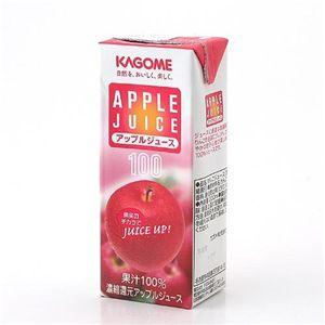 カゴメ フルーツジュース アップル 72本セット - 拡大画像