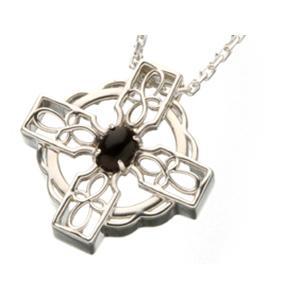 ケルト十字架ネックレス 420108 オニキス