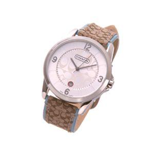COACH(コーチ)シグネチャー腕時計レザーウォッチ 14600859 メンズブルー