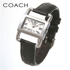 COACH (コーチ)ブライダル クロコレザーウォッチ ブラック