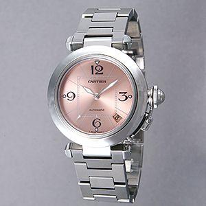 <font size=3>超激安 腕時計! ユニセックスウォッチ W31075M7「 パシャC ピンク」</font>