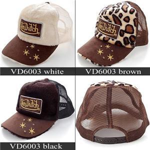 VONDUTCH 帽子 VD6003 ブラック - 拡大画像       VONDUTCH 帽子
