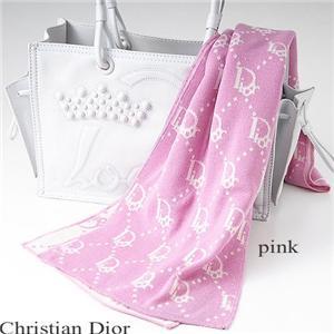 Christian Dior マフラー 2026 ピンク - 拡大画像