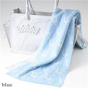 Christian Dior マフラー 2026 ブルー - 拡大画像
