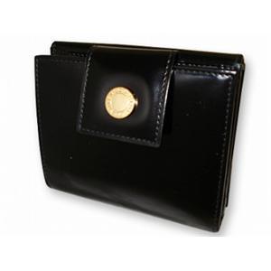ブルガリ 20079 財布 Wホック2つ折り 財布 BVLGARI  ブラック【送料無料】