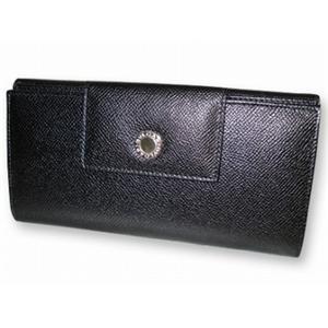ブルガリ 20401 財布 Wホック3つ折 長財布 BVLGARI  ブラック - 拡大画像