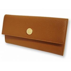 ブルガリ 20910 財布 2つ折り 長 財布 ブラウン BVLGARI【送料無料】
