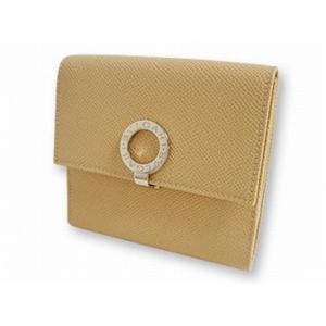 ブルガリ 23273 財布 Wホック2つ折り 財布 ベージュ BVLGARI  ベージュ【送料無料】