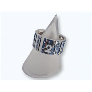 クリスチャン ディオール D80589 BL トロッター リング Christian Dior ブルーの写真1