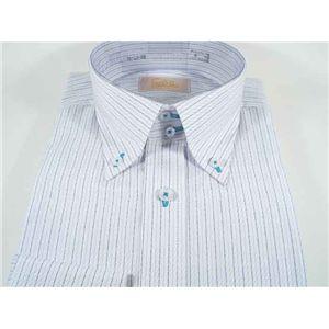 ファルチ ニューヨーク F-BD S.BL #5L(41-84) ワイシャツ Falchi New York - 拡大画像