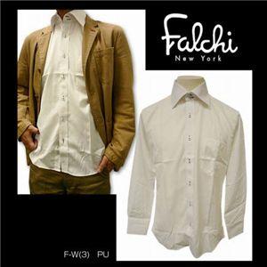 Falchi NewYork(ファルチ ニューヨーク) メンズドレスシャツ F-W-PU #3(パープル) Lサイズ(41-86)