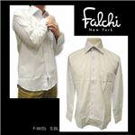 Falchi NewYork(ファルチ ニューヨーク) メンズドレスシャツ F-W-S.BL #5(スカイブルー) Mサイズ(39-84)