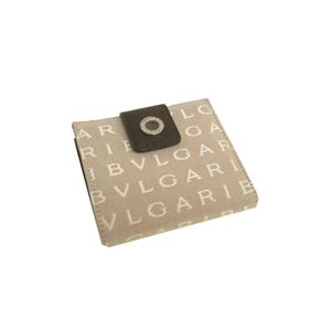 BVLGARI(ブルガリ) 25141 二つ折りサイフ ベージュ