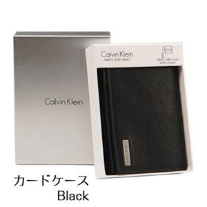 Calvin Klein(カルバンクライン)79218(カードケース) ブラック