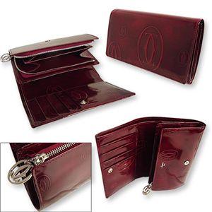 Cartier(カルティエ) 2つ折り 財布 [ ハッピーバースデーライン L3000347画像2