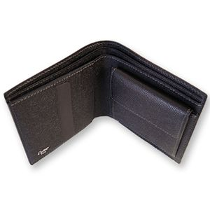 Cartier(カルティエ) 二つ折 財布 サントスライン L3000772 BK画像3