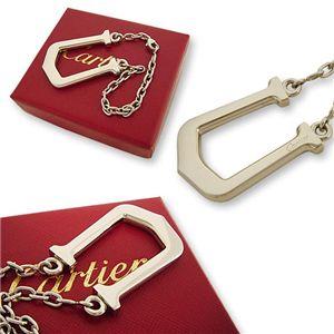 Cartier(カルティエ) Cアロンジェ キーチェーン T1220189画像2