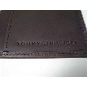 トミーヒルフィガー 4608-02 D.BR 長財布 ダークブラウン TOMMY HILFIGER サイフ