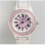 HEB milano(へブ ミラノ) 腕時計 28000ALLS00003 j basic swarovski pink 画像1