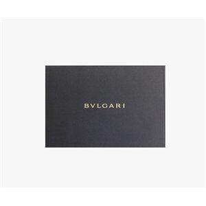 BVLGARI ブルガリ 25253 DOPPIOTONDO ドッピオトンド Wホック 二つ折り財布 レッド画像3