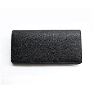 SONNE(ゾンネ)長財布 グレインレザー SOG021/BLK ブラック