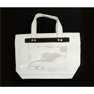 MARC BY MARC JACOBS(マークバイマークジェイコブス) トートバッグ Rat Tote 79600 ホワイト - 拡大画像