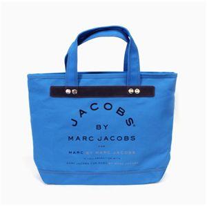MARC BY MARC JACOBS(マークバイマークジェイコブス) トートバッグ MMJ 91065 ブルー 【レアカラー】 - 拡大画像